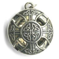 Celtic Cross Aromatherapy Necklace