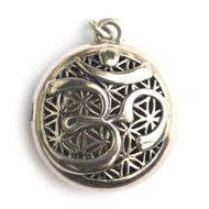 OM Aromatherapy Necklace
